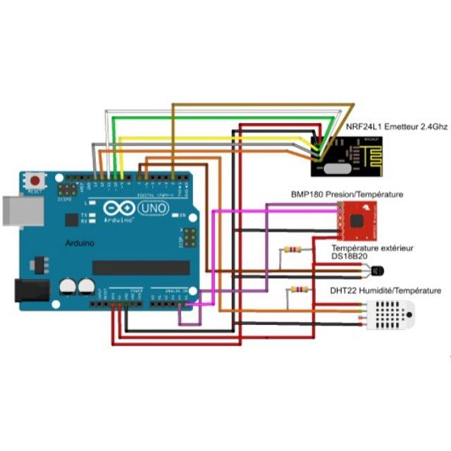 Tuto du samedi soir bonsoir! Un peu de techno/électro avec ce tuto de Michel Gard qui vous explique comment monter dès multicapteurs sur un Arduino: vous apprendrez à utiliser Arduino pour brancher des capteurs de température humidité et pression puis émission/réception en 2.4Ghz. Retrouvez le tuto ici: http://ift.tt/1TbjfBw ou sur OuiAreMakers.com rubrique technologie. #ouiaremakers #diy #tuto #arduino #technologie #maker #frenchmaker #electronique #tutoarduino #fablab #makerspace by…