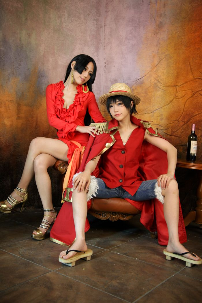 Excellent One Piece cosplay
