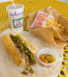 Chicago Italian Beef Sandwiches are a popular regional specialty in Chicago. Here's an authentic recipe and the best places to buy them in Chicago. It is NOT cooked in a slow cooker!