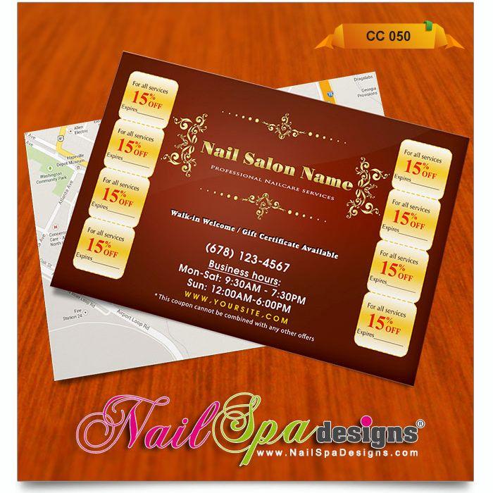 coupon cards templates