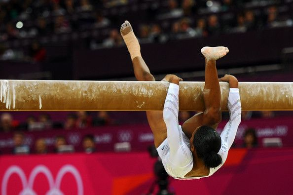 I did that once, I almost broke my leg, people think that it's funny it's not. IT HURTS. But we are gymnasts and we are tough enough because we are strong.