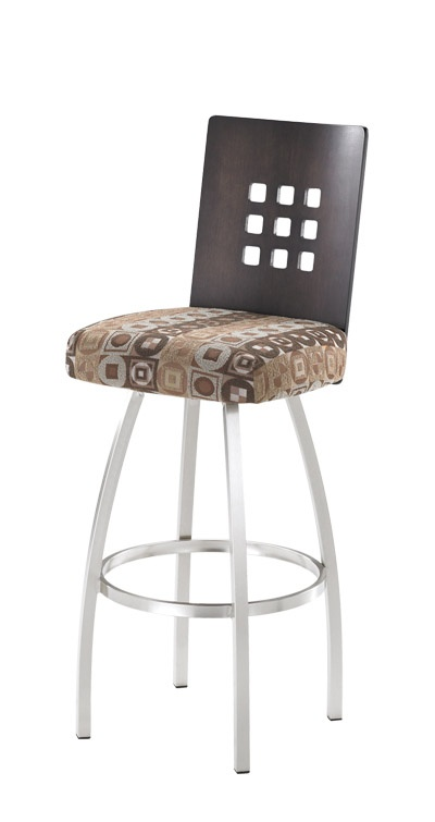 Trica Barstools ideal for a kitchen island http://gicor.ca/trica-bar-stools/ #yycinteriordesign