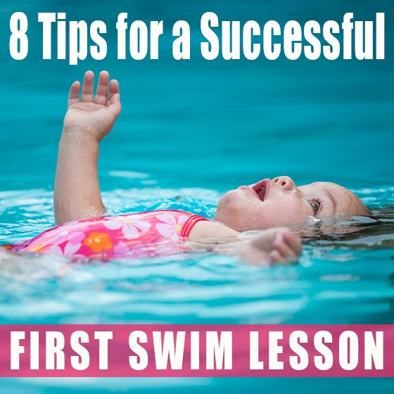 8 Tips for a Successful First Swim Lesson » Daily Mom