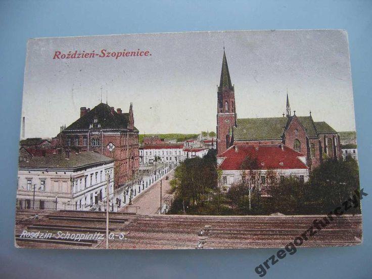 Rosdzin - Schoppinitz O.S. Szopienice k. Katowice