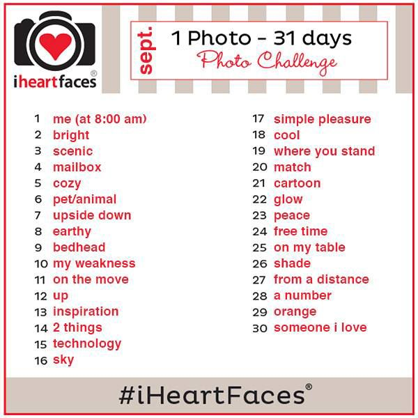 {1 Photo - 30 Days} I Heart Faces Photo Challenge - http://www.iheartfaces.com/2013/08/1-photo-per-day-challenge/