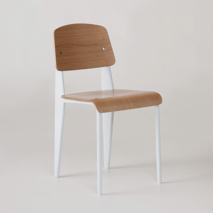 Standard Steel   Oak Dining and Office Chair   Schoolhouse Electric    Supply  246 best Chairs images on Pinterest   Chairs  Product design and  . Schoolhouse Dining Chairs. Home Design Ideas