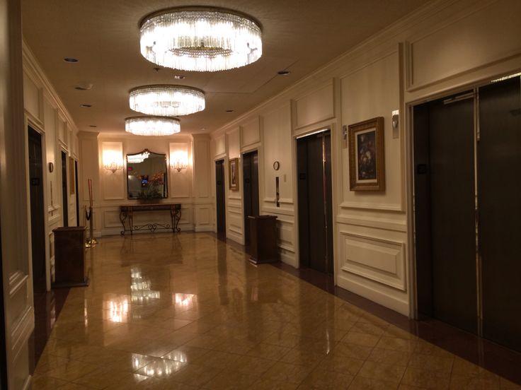 25th Floor Elevator Lobby In Bally S Hotel Las Vegas Nv