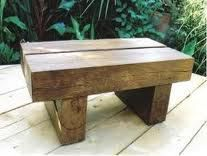 Reclaimed Railway Sleepers, Using Recycled hardwood (used) Railway Sleepers we can make to crazy furniture, why used recycled railway sleepers wood? that it very old and strong wood for any conditi…