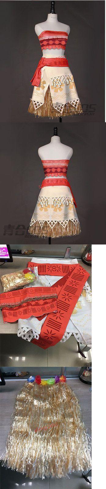 Halloween Costumes Women: New Movie Moana Costume Princess Dress Skirt Halloween Cosplay BUY IT NOW ONLY: $45.99