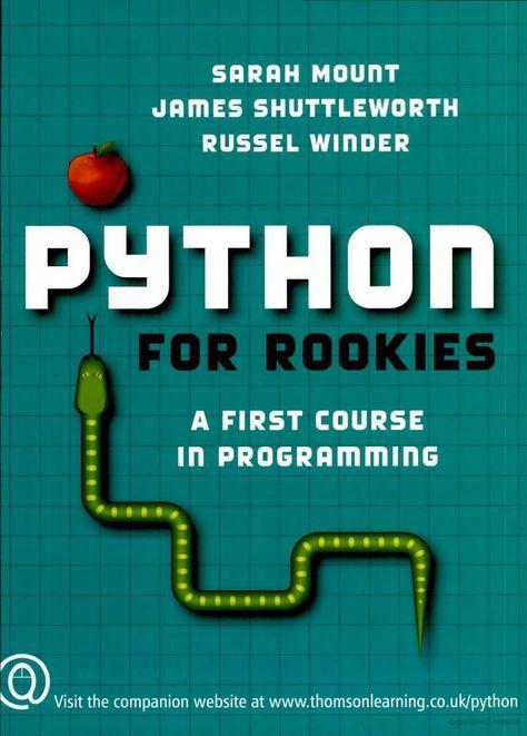 43 best Phyton images on Pinterest Python programming, Machine