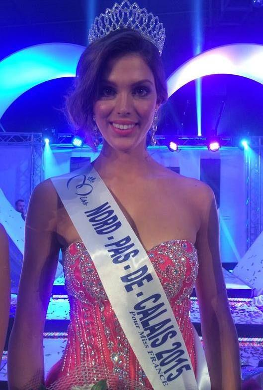 Iris Mittenaere - Miss Nord Pas de Calais 2015 pour Miss France 2016. Un doublé pour Miss NDPC ?