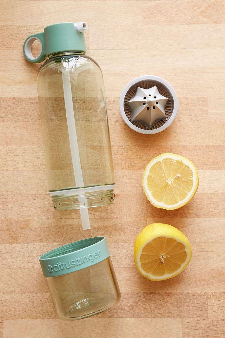 UOGoals: Drink more citrus. Citrus Zinger Sport Water Bottle - Urban Outfitters