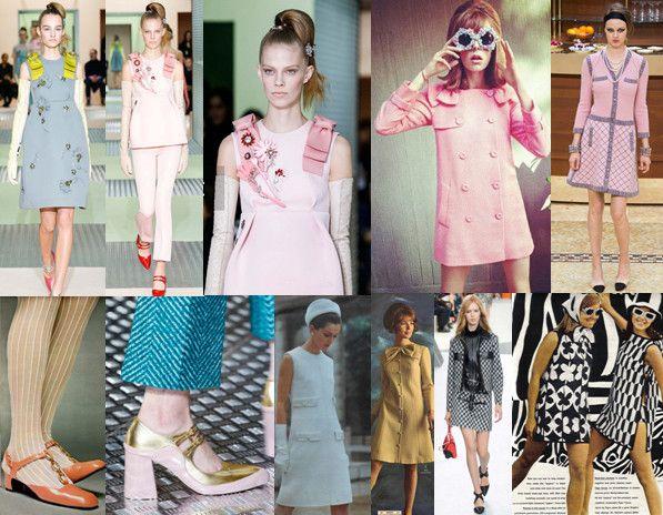 Fashion Bubbles - Moda como Arte, Cultura e Estilo de Vida Anos 60 é tendência para 2015 e 2016 - Veja como era e como volta