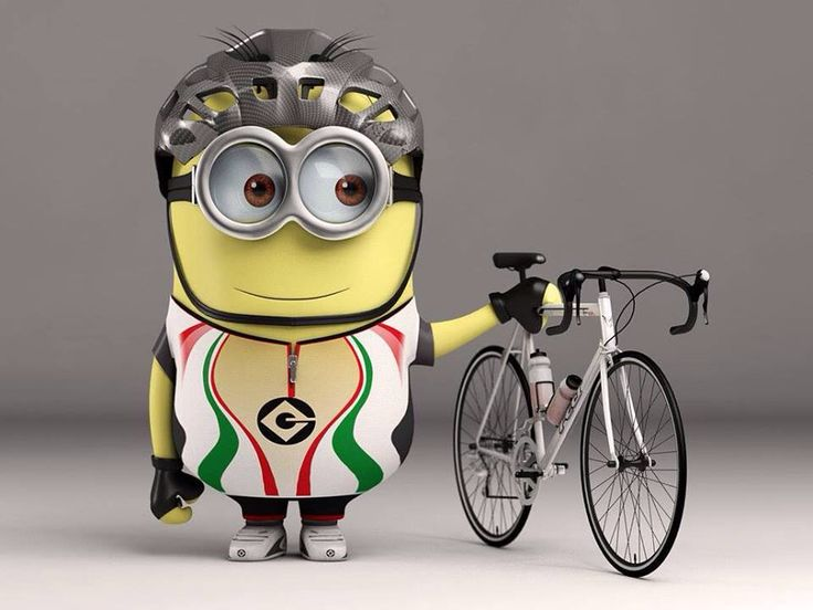 I had to find at least one minion pic, didnt I! Visit us @ http://www.wocycling.com/ for the best online cycling store.