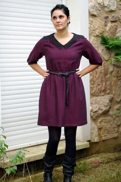 airelle blouse as dress