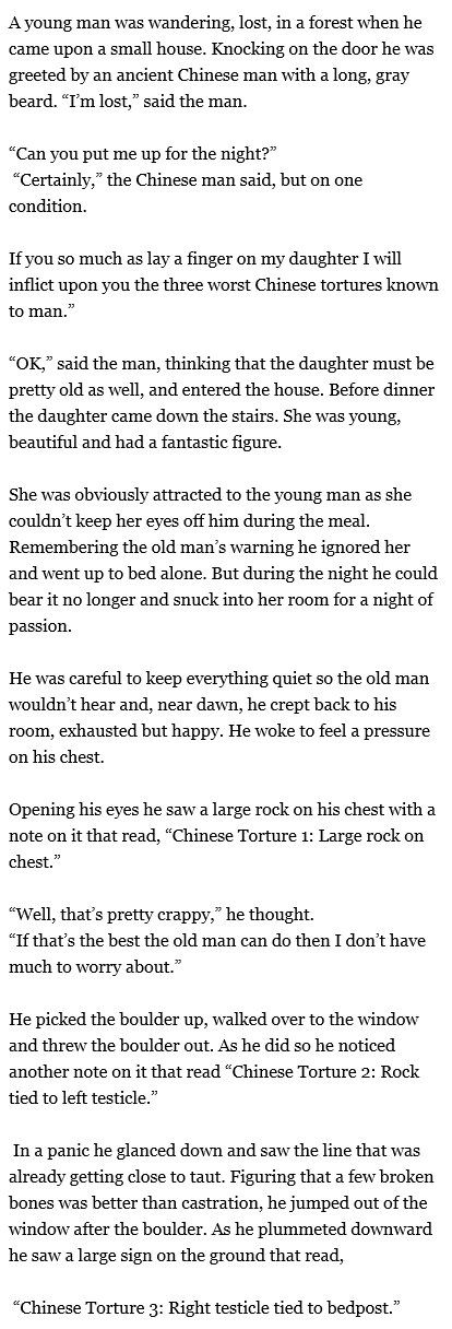 The old man and the Chinese tortures - www.meme-lol.com