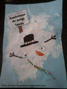 Ma Tchou team: Zut !!! Mon bonhomme de neige a fondu !                                                                                                                                                                                 Plus