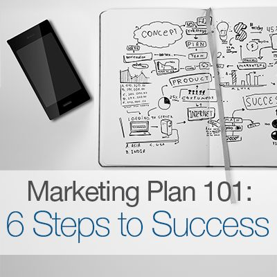 Marketing Plan 101: 6 Steps to Success when creating a #Marketing plan.