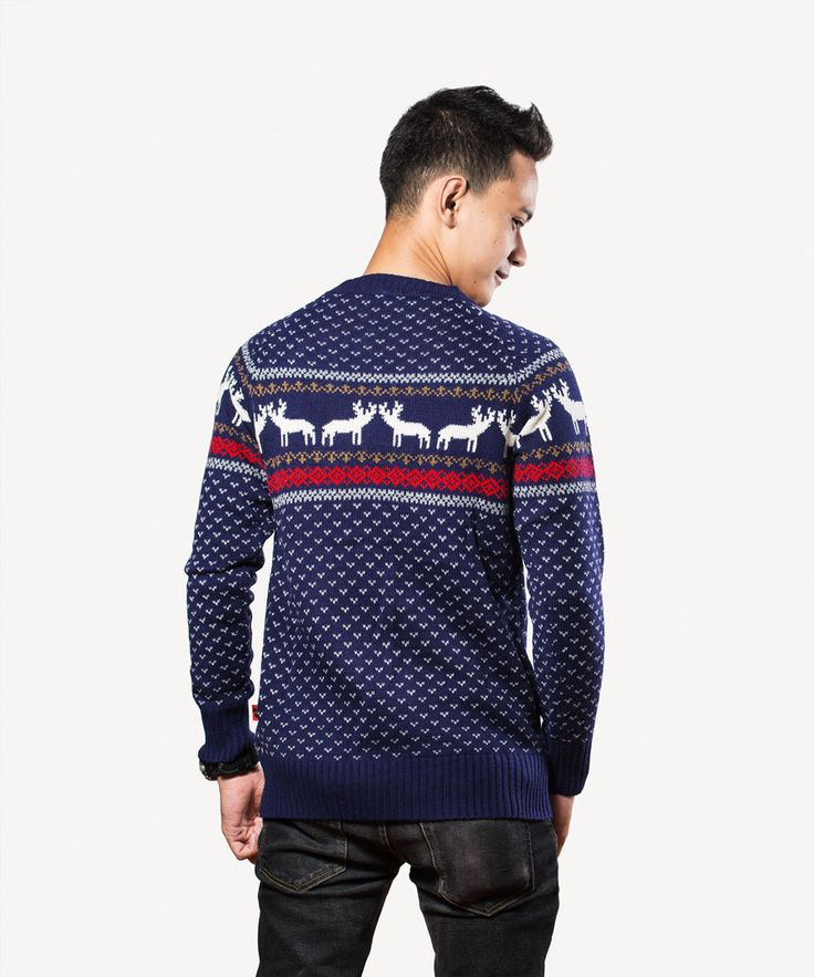 CIERVO Men's Sweater