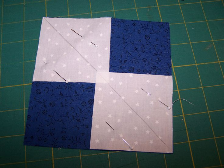 flying geese 4 - quilt piecing