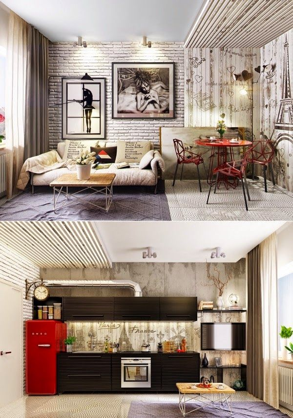 Living Rooms with Gorgeous, Modern Sofas