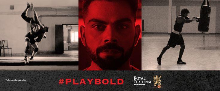 #ViratKohli Salutes the Indian Athletes in '#MadeofBold' Video by #RoyalChallengeSportsDrink