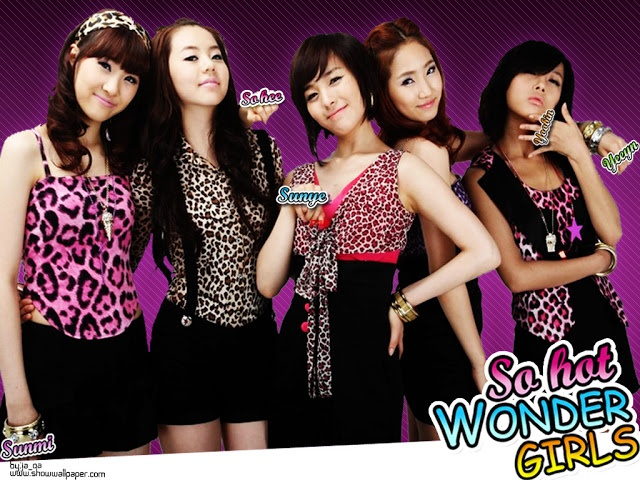 K•POP Idol Wallpaper: Wonder Girls Wallpaper 4 @ kpopidolwallpaper.blogspot.com