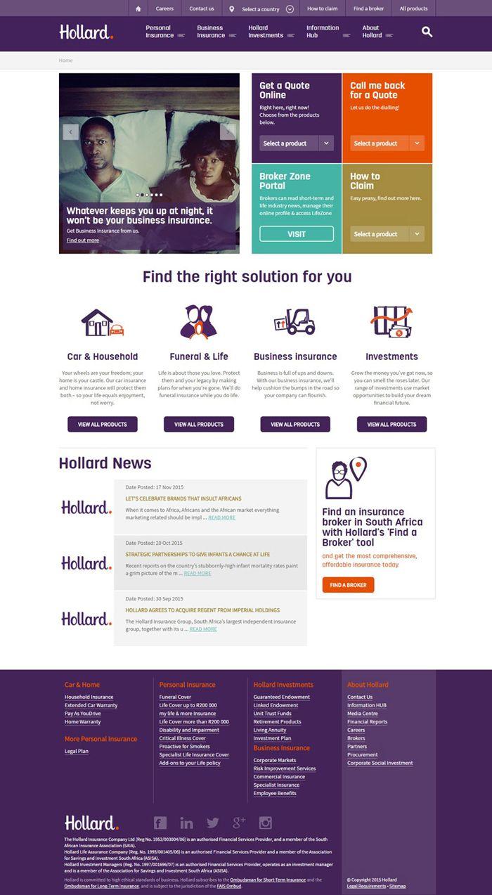 26 Excellent Insurance Websites Inspiration Designyep Insurance Investments Insurance Best Insurance