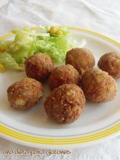 Dieta para glotones: Receta: Albóndigas de berenjena y queso