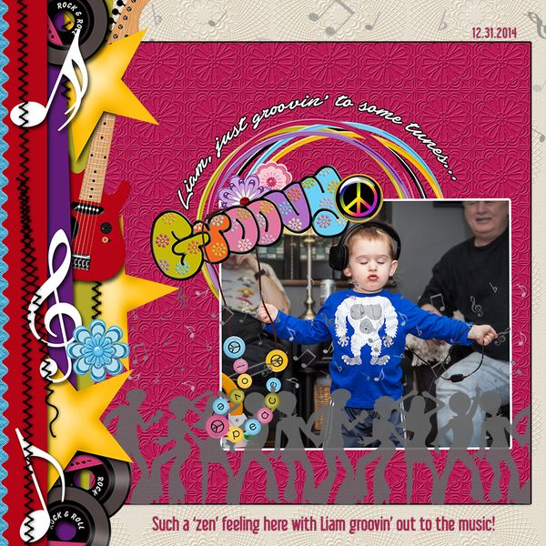 Groovin' Liam by Dog Artist. Kit: Retro Baby! Retro by Cl Graphics http://scrapbird.com/designers-c-73/a-c-c-73_514/country-livs-graphics-c-73_514_351/clgraphics-retro-baby-retro-page-kit-p-17750.html