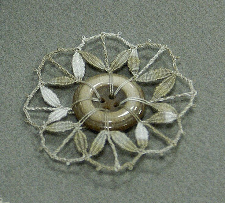 Beautiful showcased button! http://blog.seniorennet.be/kantklossen2/archief.php?ID=1489922