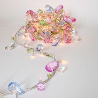 BOHEMIA PASTEL GARLAND Fairy Lights: Ideas, Bohemia String, Fairies, Lighting, String Lights, Fairy Lights, Jewels, Led String
