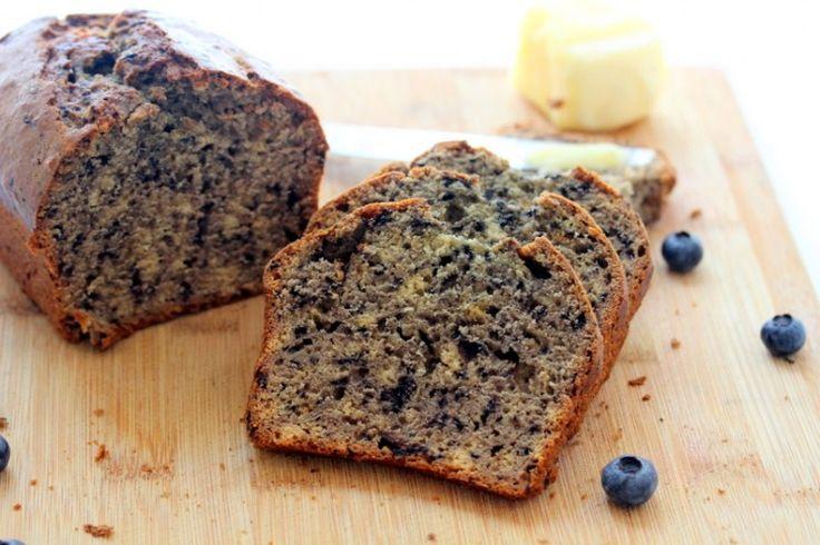 Blueberry Puree Quick Bread