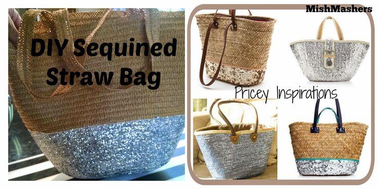 DIY Sequined Bag