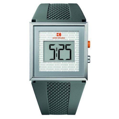 BOSS ORANGE Grey Rubber LCD Mens Watch 1512699 Hugo Boss. $102.24. Chronograph. Digital LCD Display. Alarm