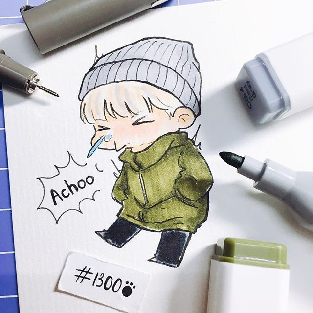 Having a runny nose is the worst thing ever  I hate bad weather  #BTS #Suga #Yoongi #Picofbaozi