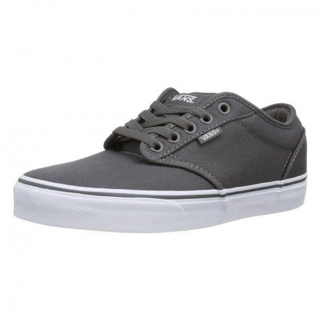 Vans Atwood Canvas Trainers Pewter Grey