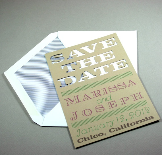 lined envelope for laser cuts