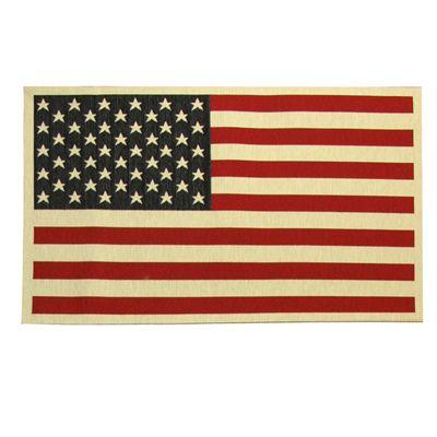 Gobelin American Flag 1 - Cotone - Poliestere - Acrilico - mix di colori