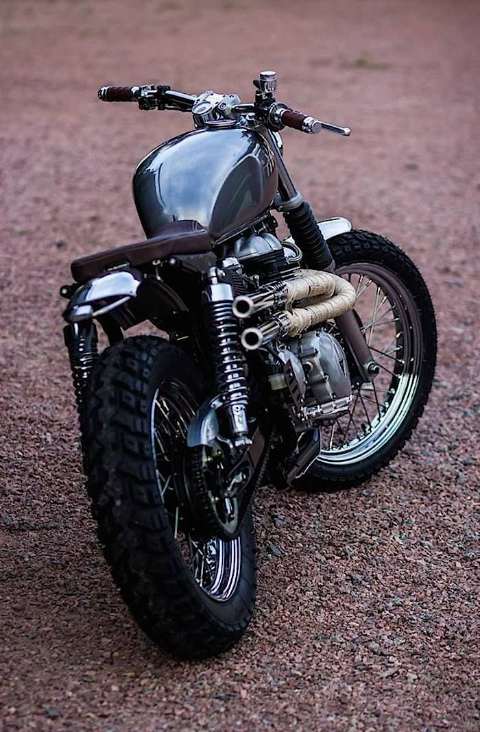 Custom Triumph Bonneville Beauty