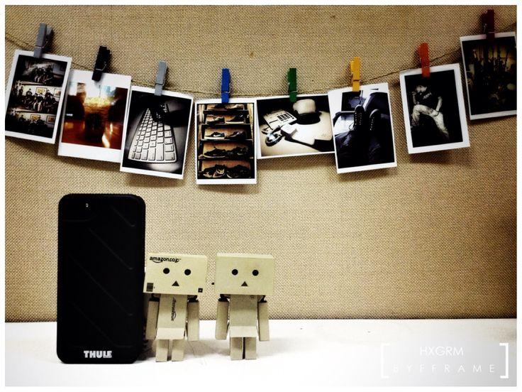 My desk #danbo #danboard
