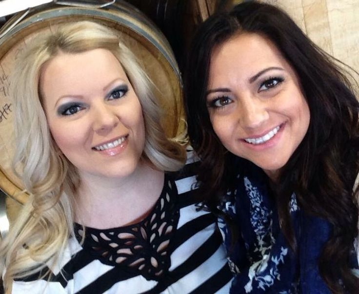 Cassie Brennan and Jacquelyn Duran with Indulgence Hair Design, located within Serenity Salon Suites in Glendale, AZ