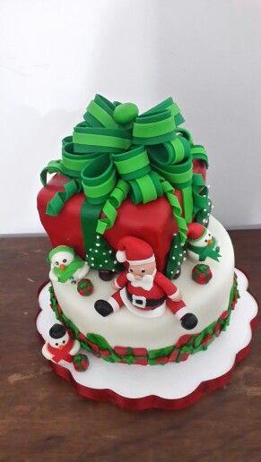 Cake navidad