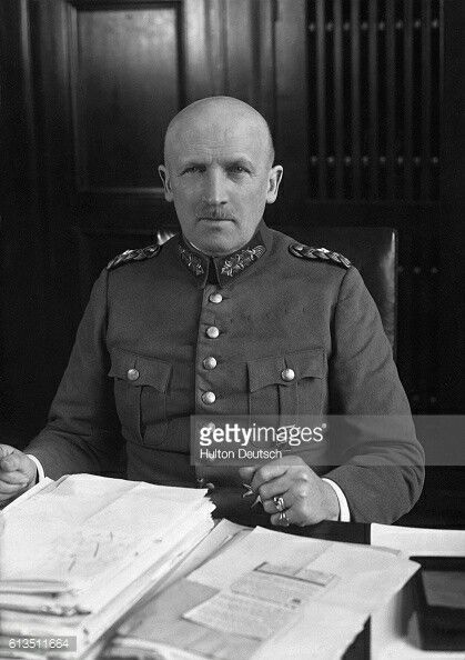 Kurt von Schleicher, German minister of war. He was executed by Nazis on a charge of treason, in 1934.