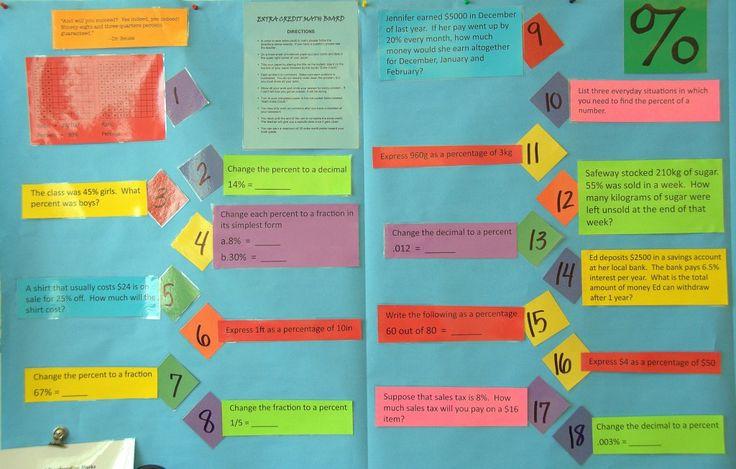 6th Grade Math Classroom Decorations ~ Th grade classroom school pinterest wall ideas