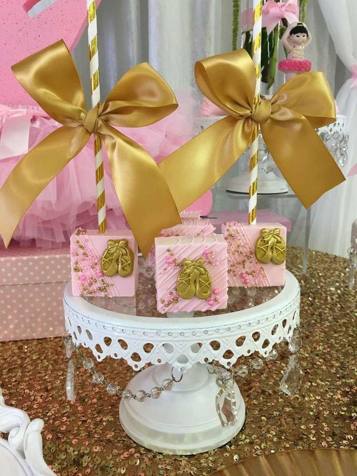 Ballerina Baby Shower Party Ideas