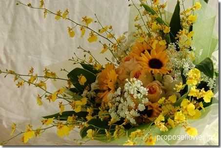 Sunflower bouquet ひまわりの花束プレゼント