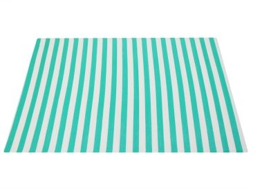Home :: Rugs & Mats  :: Recycled Cotton Rugs :: Outdoor Floor Mat Green White Stripes