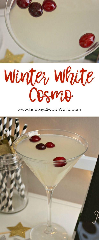 Winter White Cosmo - Bonefish Copycat Recipe