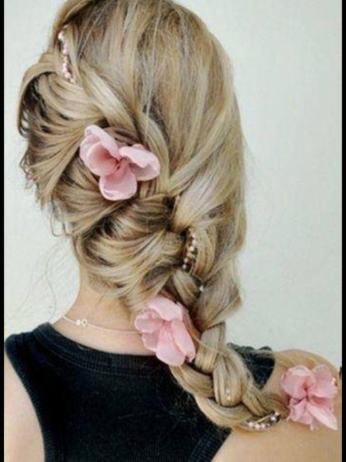 Beautiful braided hair